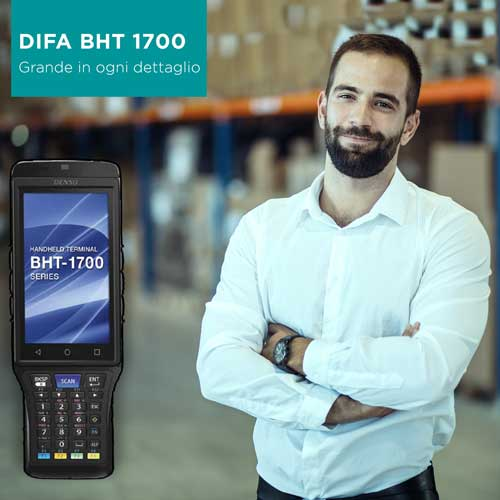 Nuovo Terminale in radiofrequenza DIFA BHT 1700