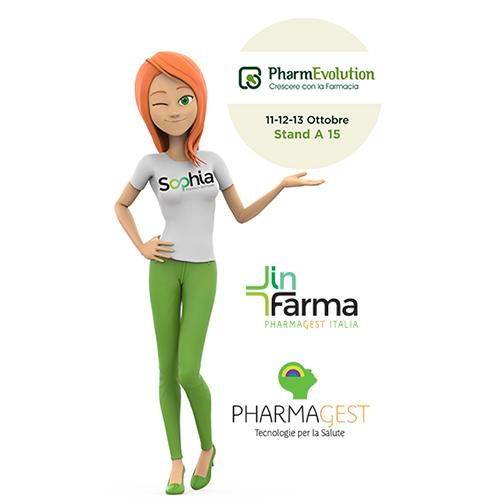 Pharmagest Italia al Pharmevolution con Sophia