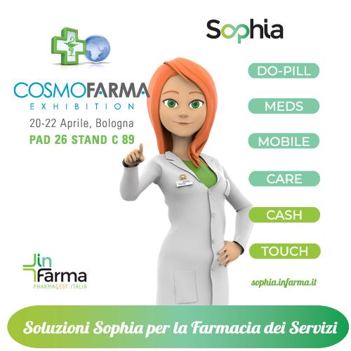 Cosmofarma scenario di grandi novità: InFarma presenterà il suo progetto per la Farmacia dei Servizi