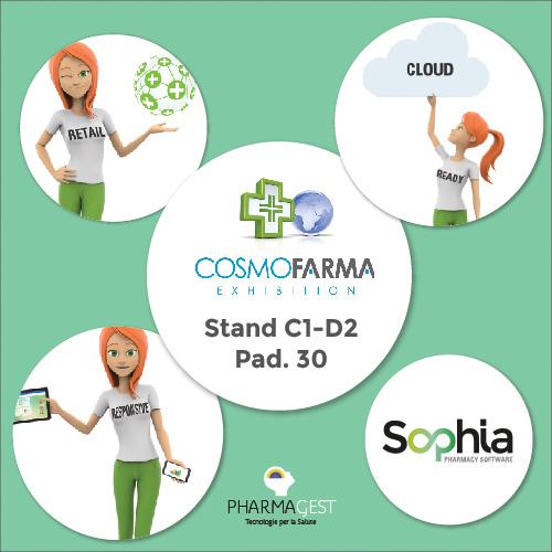InFarma Pharmagest Italia al Cosmofarma 2019