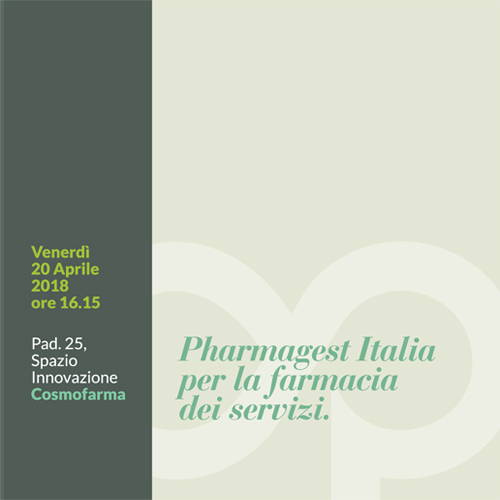 Convegno Pharmagest Italia per la Farmacia dei Servizi