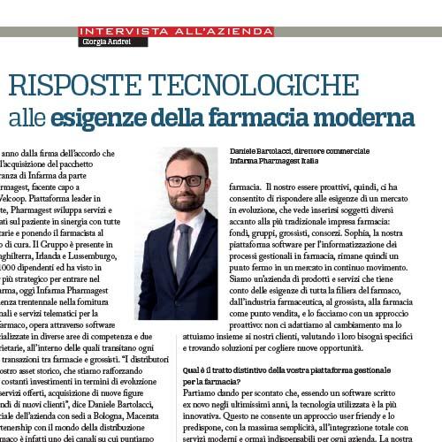 InFarma – Pharmagest Italia racconta i suoi progetti per le esigenze delle farmacie moderne