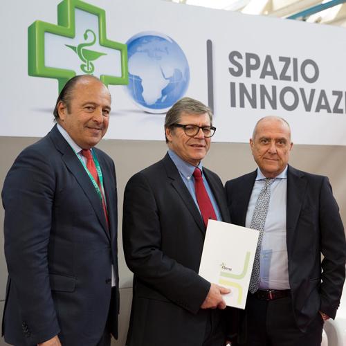 Il pubblico del Cosmofarma dà il benvenuto a Pharmagest Italia