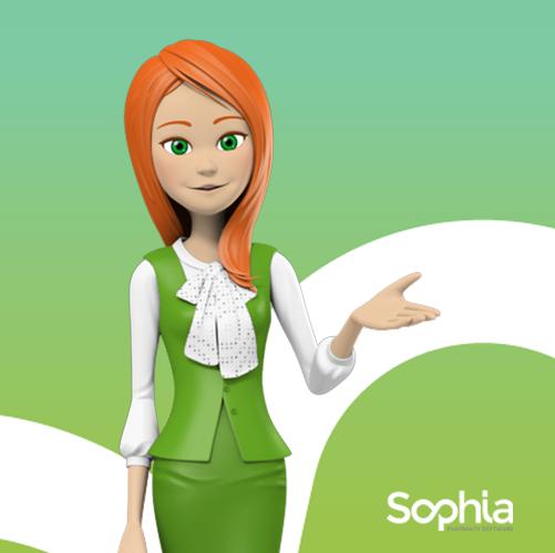 Ciao! Sono Sophia e vi aspetto al Cosmofarma